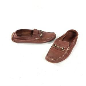 Cole Haan Tan Brown Shelby Bit II Loafers Shoes 10